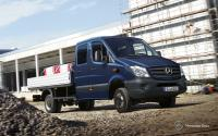 Фото Mercedes-Benz Sprinter бортовой 4-дв.  №2